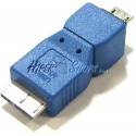 Adaptador USB 3.0 a USB 2.0 (MicroUSB B Macho a MicroUSB B Macho)