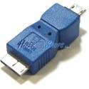 Adaptador USB 3.0 a USB 2.0 (MicroUSB B Macho a MicroUSB A Macho)