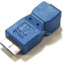 Adaptador USB 3.0 a USB 2.0 (MicroUSB B Macho a MicroUSB AB Hembra)