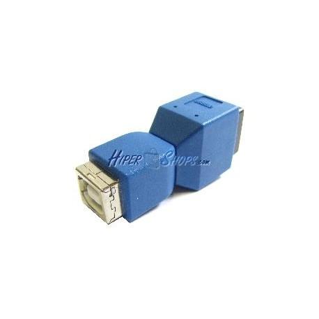 Adaptador USB 3.0 a USB 2.0 (B Hembra a B Hembra)