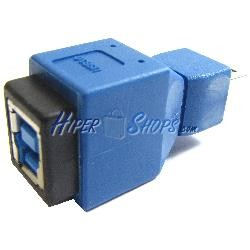 Adaptador USB 3.0 a USB 2.0 (B Hembra a MiniUSB 5 Pins B Macho)
