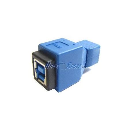 Adaptador USB 3.0 a USB 2.0 (B Hembra a MiniUSB 5 Pins A Hembra)
