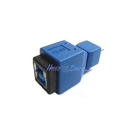 Adaptador USB 3.0 a USB 2.0 (B Hembra a MicroUSB B Macho)