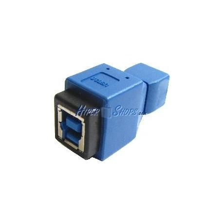 Adaptador USB 3.0 a USB 2.0 (B Hembra a MicroUSB AB Hembra)