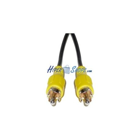 Cable Vídeo 5m (RCA-M/M)