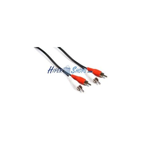 Cable Audio Stereo 20cm (2xRCA-M/M)