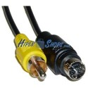 Cable S-VHS 10m (MiniDIN7-M/RCA-M)