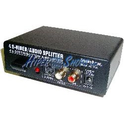 Distribuidor S-Vídeo/Audio (1 MiniDIN4/RCA a 4 MiniDIN4/RCA)