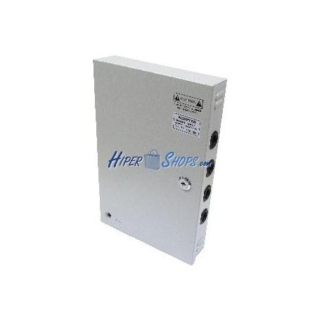 Fuente de alimentación industrial 12VDC 10A 9 OUT