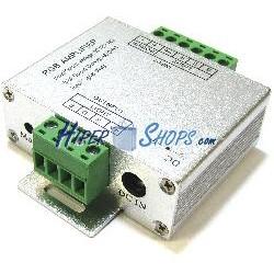 Amplificador de señal para tira de LED RGB 12-24VDC 4A 3ch