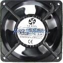 Ventilador de chasis de 220 VAC y 120x120x38 mm con cable