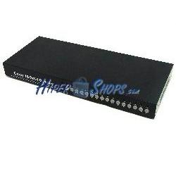 Sistema Quad para CCTV de 16 canales de vídeo y 4 canales de audio