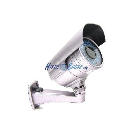 Cámara Profesional CCTV Soporte Pared (54xIR-LED Varifocal 3.5m-8mm)