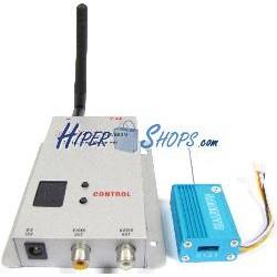 Transmisor inalámbrico de audio y vídeo de 2,4 GHz y 10 mW