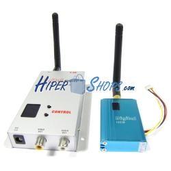 Transmisor inalámbrico de audio y vídeo de 2,4 GHz y 700 mW
