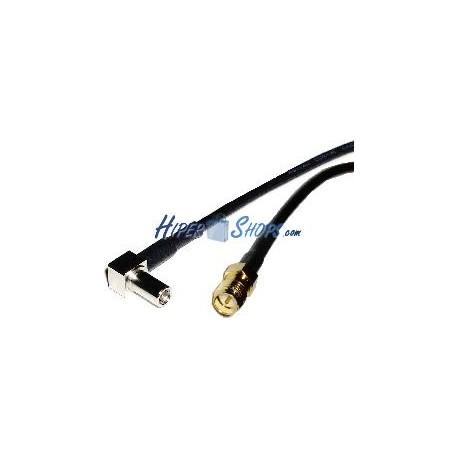 Cable RG-174RF 20cm (MS-147-C-LP-Macho/rSMA-Hembra)