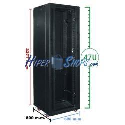 Armario rack 19'''' de pie 47U 600x800x2200mm MobiRack de RackMatic