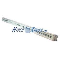 Barra de LEDs DMX512 de 123cm 48W