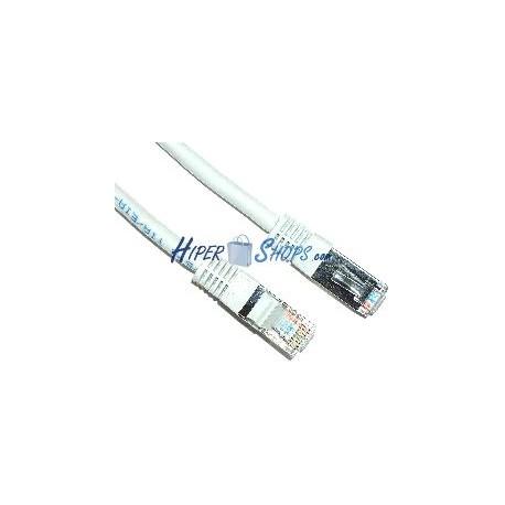 Cable FTP categoría 5e blanco (50cm)