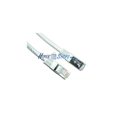 Cable FTP categoría 6 blanco (2m)
