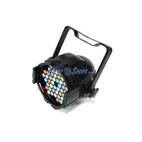 Foco PAR64 de 48 LED de 1W negro