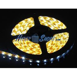 Kit de tira de LEDs flexible 6.5 lm/led 60 led/m de 5m IP65 blanco