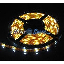 Kit de tira de LEDs flexible 13 lm/led 30 led/m de 5m IP65 blanco
