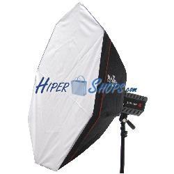 Ventana difusora de luz o softbox octogonal de 95 cm universal