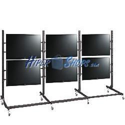 Soporte TV 3x2 para pantallas de 55&quot-