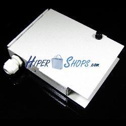 Caja de conexiones para fibra óptica de 4 puertos