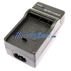 Cargador de batería Fuji 4.2V 600mA FNP40 SBL0837 SBL0737 D-L18 K7004