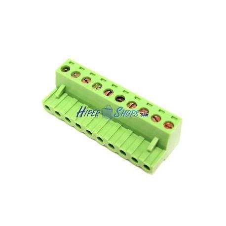 Conector hembra para circuito impreso 10 terminales 5.08mm