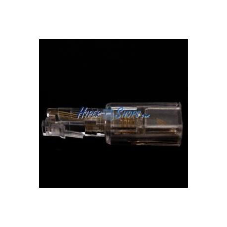 Adaptador RJ9 para microteléfono con rotación