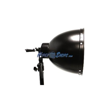 Foco con campana reflectora y rosca E27 26cm