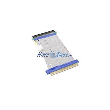 Cable extensión PCIe 16X 19cm con alimentación riser card