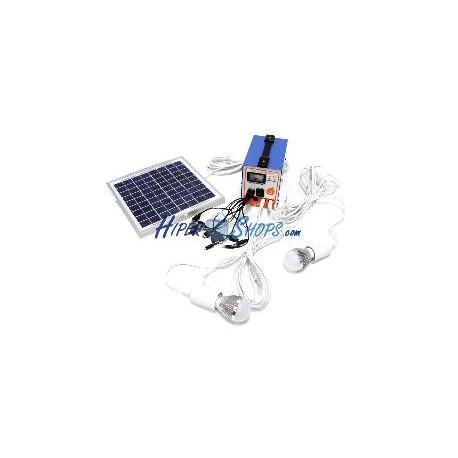 Kit de energía solar 4 Ah 24W