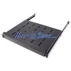 Bandeja telescópica para rack de 1U F350 585-875mm para teclado