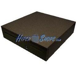 Caja portamonedas automática RJ11 negra B