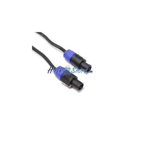 Cable speakon altavoces NL2 2x2.5mm 15GA 20m