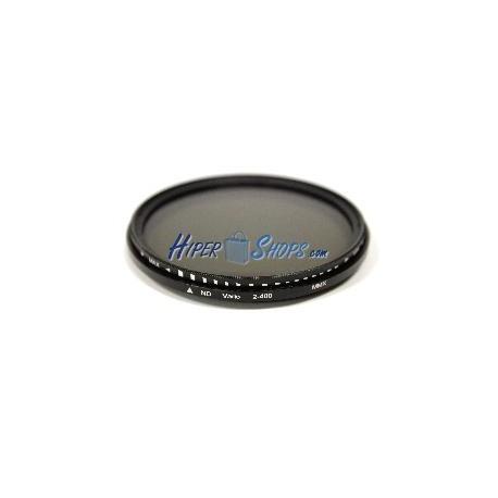 Filtro fotografía ND2 a ND400 variable para objetivo de 49mm