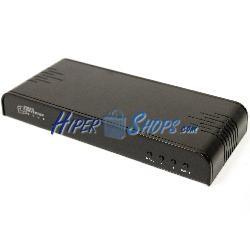 Conversor de CVBS a VGA y HDMI con soporte de audio estéreo
