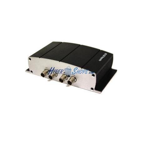 Repetidor SDI de 4 puertos HD-SDI SD-SDI 3G-SDI NewBridge