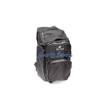 Mochila para equipos de fotografía fly-Leaf D12 negro