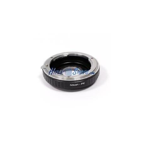 Adaptador de montura Pentax PK a Nikon A1