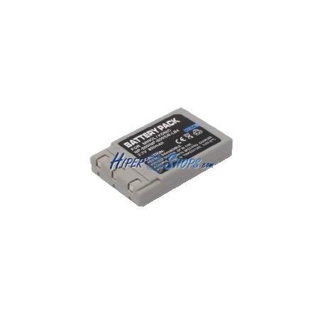 Batería compatible con Minolta Konika Olympus NP-500 NP-600 DR-LB4
