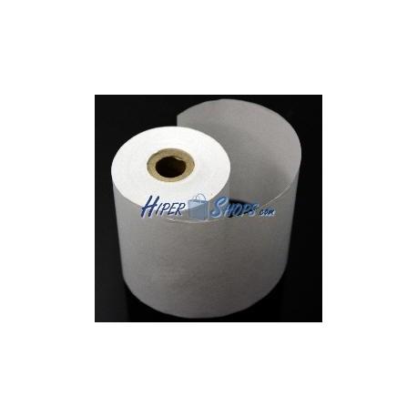 Bobina papel térmico impresora 80mm x 80m 2pack