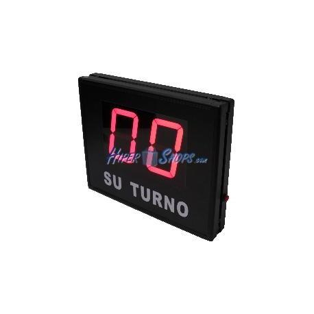 Gestión de colas electrónico Su Turno 2 dígitos