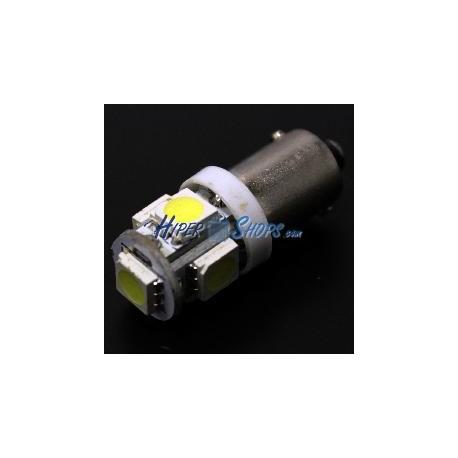 Bombilla coche LED BA9S 5x5050SMD