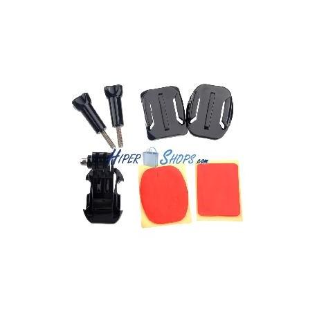 Kit de fijación con adhesivo para cámara Gopro HD Hero 1 2 3 ST19