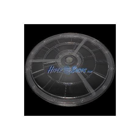 Base rotatoria manual d306mm h12mm transparente